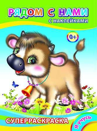 "Kinderbuch ""Superraskraska"", A4 mit Sticker, Set"