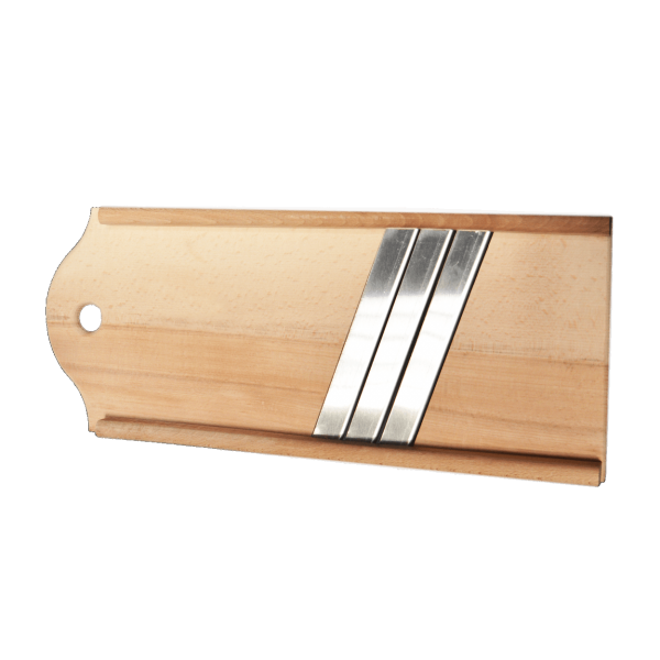 Reibe (Holz) für Kraut, 3 Klingen