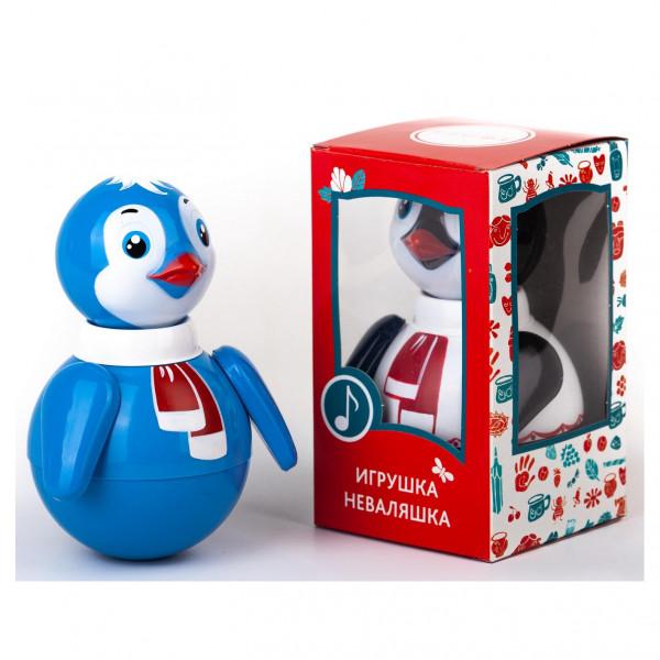 "Stehaufpuppe ""Pinguin"", 15 cm"