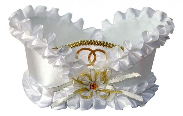 Deko-Körbchen für Hochzeitsflaschen