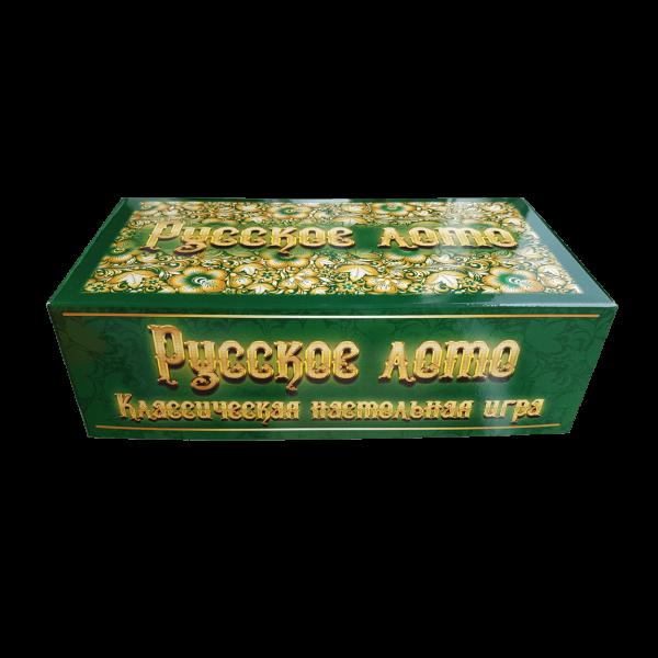 """Brettspiel """"Russkoe Loto"""" in Karton """"Isumrud"""""""